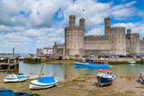 Caernarfon Castle, UNESCO World Heritage Site, Caernarfon, Gwynedd, Wales, United Kingdom, Europe Photographic Print by Alan Copson