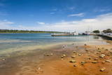 Harbour of Lakes Entrance, Victoria, Australia, Pacific Photographic Print by Michael Runkel