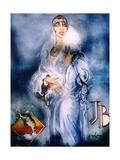 Josephine Baker Giclee Print by John Erskine