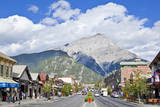 Banff Town and Cascade Mountain Photographic Print by Neale Clark