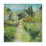 The White Garden, Sissinghurst Giclee Print by John Erskine
