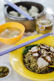 Pork Noodles (Mee), Served Photographic Print by Andrew Taylor