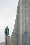 Hallgrimskirkja Lutheran Parish Church, Reykjavik, Iceland, Polar Regions Photographic Print by Michael Snell