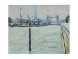The Pool of London Giclee Print by John Erskine