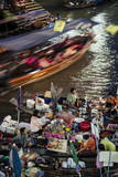 Amphawa Weekend Market, Amphawa, Thailand, Southeast Asia, Asia Photographic Print by Andrew Taylor