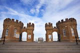 Old Pier Towers at Withernsea, East Riding of Yorkshire, Yorkshire, England, United Kingdom, Europe Photographic Print by Mark Sunderland
