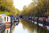 Canal Boats, Little Venice, London, England, United Kingdom, Europe Photographic Print by Mark Mawson