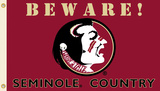 NCAA Florida State Seminoles Country Flag with Grommets Flag