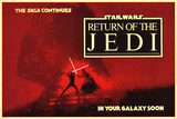 Star Wars: Return of the Jedi- The Saga Continues Prints