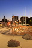 San Jose City Hall Plaza, California, Usa Photographic Print by Richard Cummins