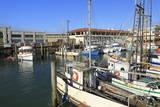 Commercial Fishing Boats at Fisherman's Wharf Stampa fotografica di Cummins, Richard