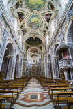 Interior of the Church of Saint Mary of Gesu (Chiesa Del Gesu) (Casa Professa) Photographic Print by Matthew Williams-Ellis