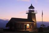 Lighthouse and Surfing Museum, Santa Cruz, California, United States of America, North America Photographic Print by Richard Cummins