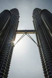 Petronas Towers (452M), Kuala Lumpur, Malaysia Photographic Print by Andrew Taylor