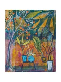 Summer Garden Giclee Print by Margaret Coxall