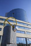 Vub Bank Building in City Business Centre, Bratislava, Slovakia, Europe Photographic Print by Ian Trower