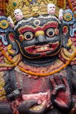 The Kala (Black) Bhairab Monument Photographic Print by Andrew Taylor