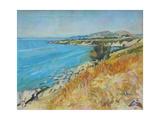 Pefkos Bay, Rhodes Giclee Print by John Erskine