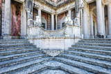 Lions Staircase, Royal Summer Palace of Queluz, Lisbon, Portugal, Europe Photographic Print by G and M Therin-Weise