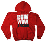 Hoodie: Bow Wow - Bow Wow YMCMB on Red T-Shirt