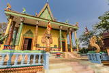 The Hilltop Temple of Wat (Phnom) Hanchey Photographic Print by Michael Nolan