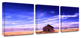 Bear Lake Autumn 3-Piece Canvas Set Gallery Wrapped Canvas Set by Dean Uhlinger
