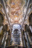 Frescoes on the Ceiling at the Church of San Matteo Photographic Print by Matthew Williams-Ellis