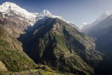 The View from Upper-Chomrong, around 2210M Photographic Print by Andrew Taylor