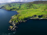 Aerial View of Torr Head on the North Antrim Coast Photographic Print by Chris Hill