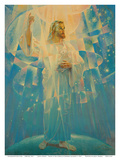 Jesus Christ - Thine is the Power Prints by Warner Sallman