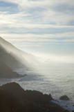 Early Morning Fog Lifts Off the Pacific Ocean Along the Big Sur Coastline Photographic Print by Macduff Everton