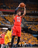 2014 NBA Playoffs Game 7: May 3, Atlanta Hawks vs Indiana Pacers - Mike Scott Photographic Print by Jesse D. Garrabrant