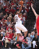 2014 NBA Playoffs Game 6: May 2, Houston Rockets vs Portland Trail Blazers - LaMarcus Aldridge Photo by Sam Forencich