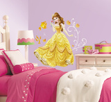 Disney - Princess Belle Peel and Stick Giant Wall Decals Vinilo decorativo