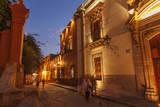Cuna De Allende, a Street in Central San Miguel De Allende Photographic Print by Macduff Everton