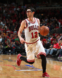 2014 NBA Playoffs Game 5: Apr 29, Washington Wizards vs Chicago Bulls - Kirk Hinrich Photographic Print by Gary Dineen