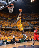2014 NBA Playoffs Game 7: May 3, Atlanta Hawks vs Indiana Pacers - Lance Stephenson Photographic Print by Jesse D. Garrabrant