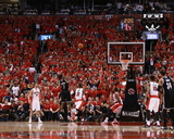 2014 NBA Playoffs Game 7: May 4, Brooklyn Nets vs Toronto Raptors - Joe Johnson Photo by Dave Sandford