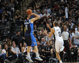 2014 NBA Playoffs Game 2: Apr 23, Dallas Mavericks vs San Antonio Spurs - Jose Calderon Photo by D. Clarke Evans
