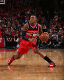 2014 NBA Playoffs Game 5: Apr 29, Washington Wizards vs Chicago Bulls - Bradley Beal Photographic Print by Gary Dineen
