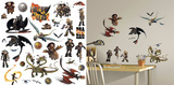 How to Train Your Dragon 2 Peel and Stick Wall Decals Wall Decal
