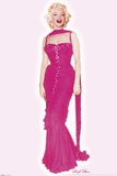 Marilyn Monroe - Pink Dress Prints