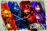 Ninja Turtles - Bars Posters