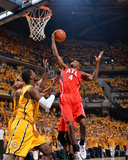 2014 NBA Playoffs Game 7: May 3, Atlanta Hawks vs Indiana Pacers - Paul Millsap Photographic Print by Jesse D. Garrabrant