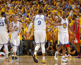 2014 NBA Playoffs Game 6: May 1, Los Angeles Clippers vs Golden State Warriors - Andre Iguodala Photographic Print by Rocky Widner