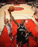 2014 NBA Playoffs Game 7: May 4, Brooklyn Nets vs Toronto Raptors - Kevin Garnett Photographic Print by Ron Turenne