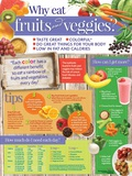 Why Eat Fruits and Veggies Poster Print