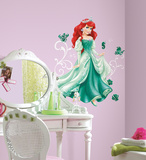 Disney - Princess Ariel Peel and Stick Giant Wall Decals Autocollant mural