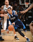 2014 NBA Playoffs Game 2: Apr 23, Dallas Mavericks vs San Antonio Spurs - Monta Ellis Photographic Print by Garrett Ellwood