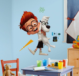 Mr. Peabody & Sherman Peel and Stick Giant Wall Decals Wall Decal